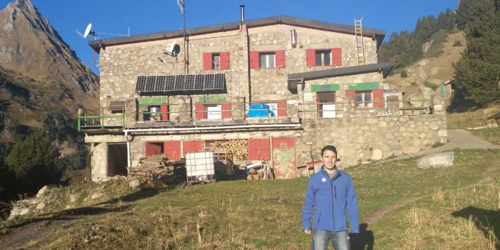 The Team Of The  Aragon Hydrogen Foundation Visits The Estós Hut